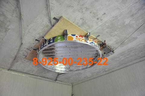 Комната размером 350х400 см