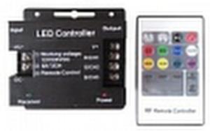 RGB-контроллер LN-RF20B-S (12-24V, 288-576W, ПДУ 20кн)